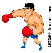 Boxer Caricature