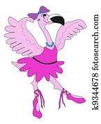Ballerina Flamingo