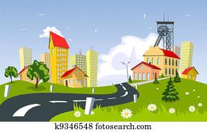 Mining town