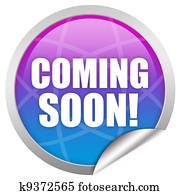 Coming soon label
