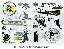 wintersport, c