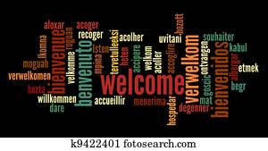 Welcome Word Cloud