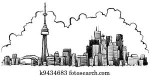 Cartoon Toronto