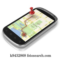 smart phone navigation - mobile gps
