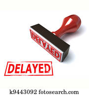 3d stamp delayed
