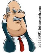 Cartoon Executive