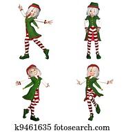 Christmas Elf Pack - 2of6