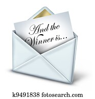 Award Winner Envelope