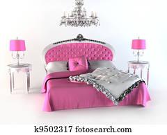 Luxury Bed. Bedroom