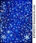 Blue Snow Blizzard