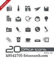Office & Business Icons // Basics