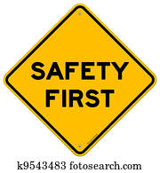sicherheit zuerst, symbol