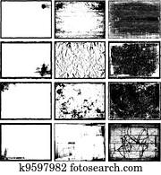 Frames & Textures