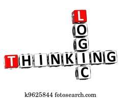 3D Logic Thinking Crossword