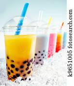 Boba Tea Cocktails