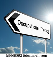 Occupational Therapy concept.