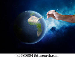 Painting Earth