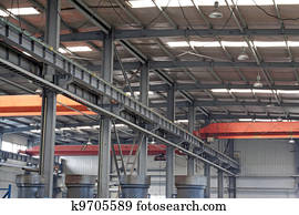 factory workshop internal structure