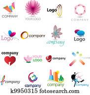 A rich logo collection