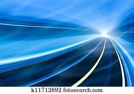Abstract speed motion illustration