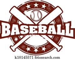 altmodisch, baseball, sport, briefmarke