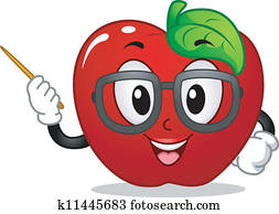 Apple Mascot