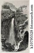 Avrieux waterfalls