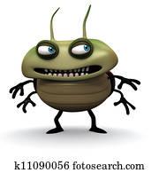 bad green bug