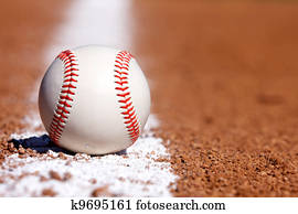 Baseball on the Chalk Line
