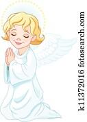 betende, engelchen