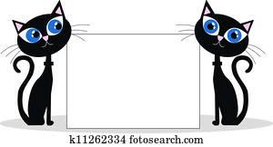 black cats header website