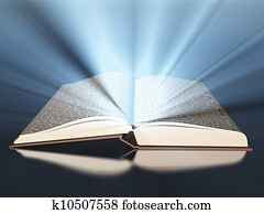 Book with light