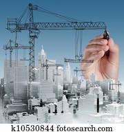 building development concept