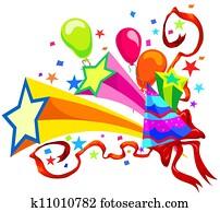 Celebration, illustration