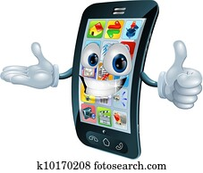 cell phone clipart eps images 41 911 cell phone clip art vector