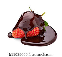 chocolate strawberry dessert candy food