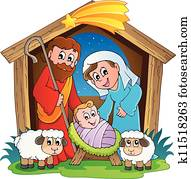 nativity scene clipart royalty free 2 541 nativity scene clip art rh fotosearch com nativity clip art christmas nativity clip art free