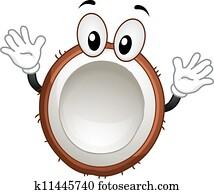 Coconut Mascot