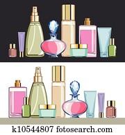 Cosmetics beauty care set