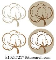 Cotton icons
