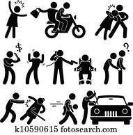 Criminal Robber Burglar Kidnapper