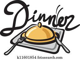 dinner clipart vector graphics 127 680 dinner eps clip art vector rh fotosearch com dinner clip art pictures dinner clip art free