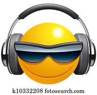Emoticon DJ