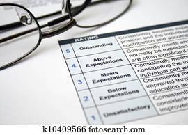 Employee self evaluation
