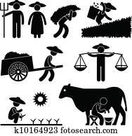 Farm Farmer Worker Farming