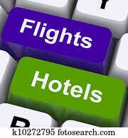 Flights And Hotel Keys For Overseas Vacations