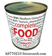 Food additives - e-numbers