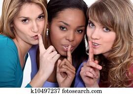 Friends with a secret
