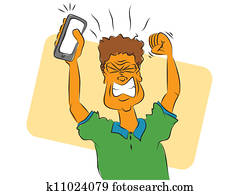 Frustrated Smart Phone User