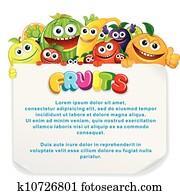 Fun Fruit Sign